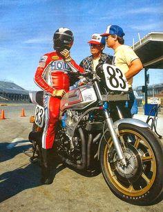 Honda Superbike racemotor