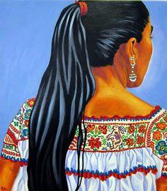 Mujer Indigena by Pola Lopez