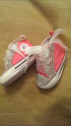 77a2ba4db27d Bling Baby Converse by RadianceDesigns on Etsy