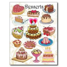 =>quality product          	Desserts Post Card           	Desserts Post Card you will get best price offer lowest prices or diccount couponeDeals          	Desserts Post Card Review from Associated Store with this Deal...Cleck Hot Deals >>> http://www.zazzle.com/desserts_post_card-239078531813950821?rf=238627982471231924&zbar=1&tc=terrest
