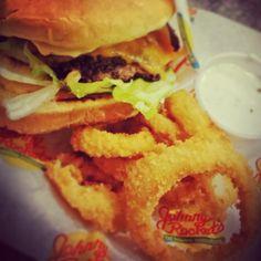 Photo Credit: @mkcnme via Instagram  #JohnnyRockets #BYOB #hamburgers #AllAmerican #lunch #dinner #eat #customhamburgers #shakes #fries #onionrings #desserts #sandwich #burgers