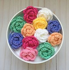 This easy crochet rose pattern is the perfect embellishment to any project. My favorite part is how fast they work up and the pop of c...