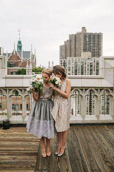 Gorgeous and spontaneous wedding inspiration!
