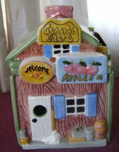 General Store Cookie Jar - I have this one too!