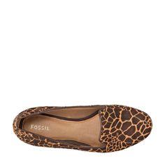 4a65f28f54a giraffe print loafers Types Of Women