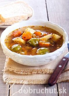 Pikantná zeleninová polievka