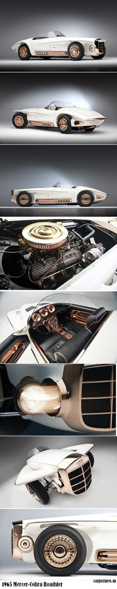 1965 Mercer-Cobra Roadster 289 V8 roadster, then .. the little part over the front wheels.. wings .. ? .. ideas there !
