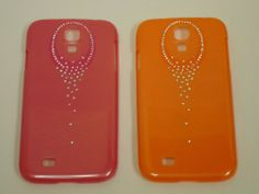 Samsung Galaxy S4 cellphone case holiday super sale 2 for only $24 - Red/Orange