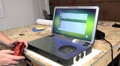 Ben Heck's Xbox 360 portable mod