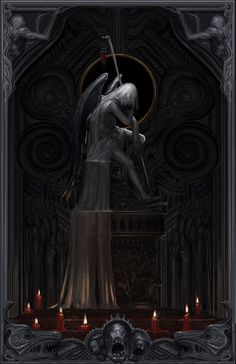 """Our thirst for blood satiates us. the frailties of men."" Hope everyone is about to be as emotionally empty as I am gonna need to be to play From Software's Bloodborne in late March! Beautiful Dark Art, Gothic Fantasy Art, Panda Art, Gothic Horror, Fantasy Landscape, Dark Souls, Abstract Wall Art, Occult, Creative Art"