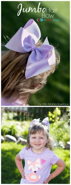 a3279a9b1a8fce Big bows are fun to make and so fun to wear. Learn how to create a Jumbo Hair  Bow that is big and beautiful. You will love these adorable big