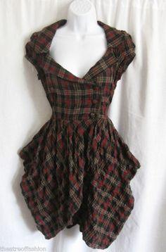 TARTAN DRESS STEAMPUNK for sale on  eBay