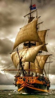 Sailing Ship Digital Art - Queen of the Sea by Mario Carini