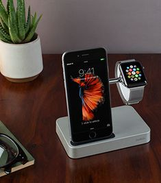 bedside charger for iphone and apple watch