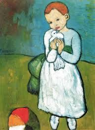 picasso girl with dove - Google Search