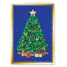 Miles Kimball Satin Tree Christmas Card Set sends a special greeting that celebrates the loved ones in your life. Set of Personalised Christmas Cards, Holiday Greeting Cards, All Things Christmas, Christmas Tree, Christmas Ornaments, Walter Drake, All Holidays, Custom Cards, Birthday Cards