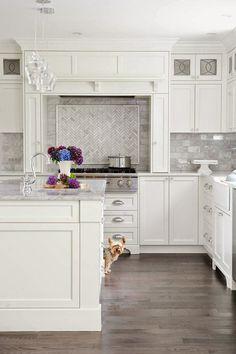 Adding interest to the white kitchen: Hoods – Greige Design