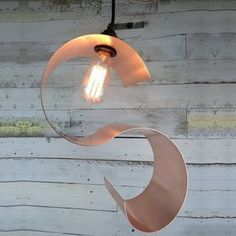 Bude Hand Rolled Copper Pendant Light Shade - Decorative lighting is becoming an artform in itself, with designs that catch the eye whether the bulb is on or off. Consider mixing different styles with complementary tones or mixed metals. Perfect for any living room.