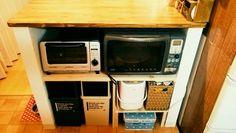 わが家のキッチン☆DIY紹介 - hiromin's handmade* - サンキュ!主婦ブログ 料理・節約・懸賞など主婦の口コミブログ満載