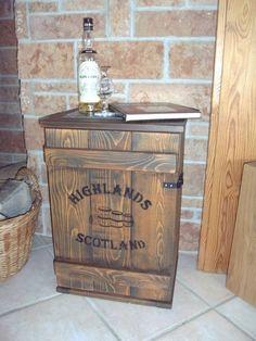 shabby frachtkiste mini bar vintage couchtisch whiskey. Black Bedroom Furniture Sets. Home Design Ideas