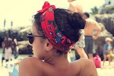 lovely summer hairdo!