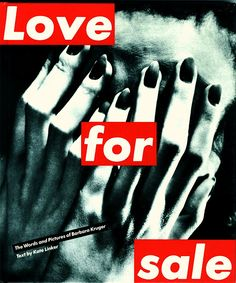 """Graphic Design by: Barbara Kruger """"I work with pictures and words because they have the ability to determine who we are and who we a. Barbara Kruger Art, Women Artist, Anti Valentines Day, Word Pictures, Postmodernism, Art Challenge, Word Art, Are You Happy, Frases"""