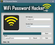 WiFi Password Hacking Software working