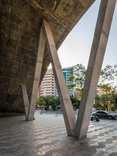 Córdoba Cultural Centre features a wavy roof that people can walk across