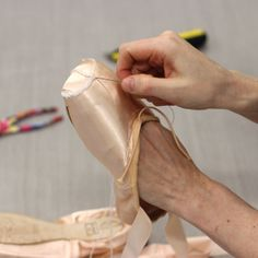 How dancers prepare their pointe shoes | Behind Ballet