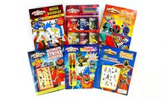 Groupon - Bundle of 6 Power Rangers Activity Books in Online Deal. Groupon deal price: $14.99