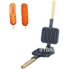 Nonstick Lolly Waffle Iron Mold Pan