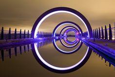The Falkirk Wheel, Scotland