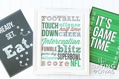 Super Bowl Party Pack Decor for group party date!