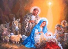 And they came with haste, and found Mary, and Joseph, and the babe lying in a manger.
