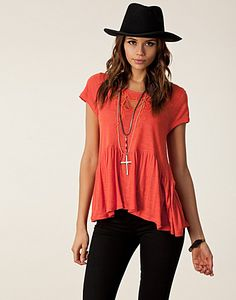 TOPPER - FREE PEOPLE / CANDY CRAFTY KNIT TOP - NELLY.COM