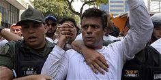 Leopoldo López, opositor venezolano encarcelado