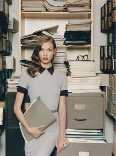 Karlie Kloss for self service fw 2012