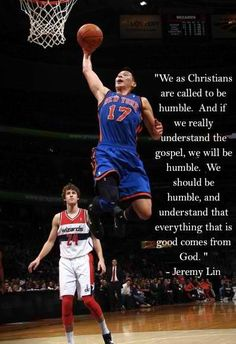 Jeremy Lin. My Asian bballin hero