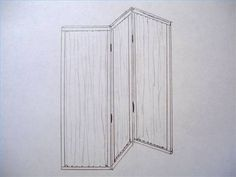 Indoor privacy screens, also known as Japanese shoji screens, have existed since the early eighth century AD. Though originally made in China, it was in Japan that these screens developed into what they are today. Diy Room Divider, Room Divider Screen, Room Screen, Screen Doors, Wall Dividers, Patio Privacy Screen, Privacy Panels, Privacy Shades, Room Deviders