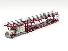 Peterbilt Car transporter