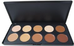 New Ml Collection 10 Color Camouflage Concealer Palette Cream Nature *** Read more  at the image link.