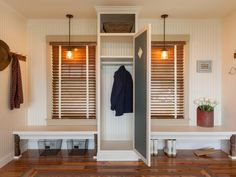A Mudroom Must-Have - 22 Mudroom Storage and Decorating Ideas on HGTV