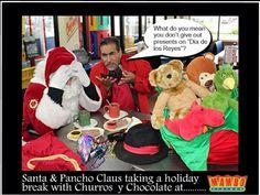 Will be visiting Mambos this Dia de Los Reyes , Tuesday , Dec. 6th.  #santa #panchoclaus #MamboSeafoodRestaurant #Santaclaus #diadelosreyes #panchoclause