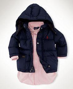 Ralph Lauren Baby Jacket, Baby Boys Elmwood Puffer Jacket - Kids Baby Boy (0-24 months) - Macy's