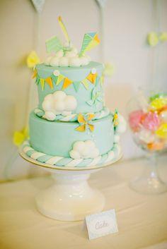 KITE PARTY: the birthday cake