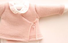 Wrap Cardigan Instructions in French PDF by LittleFrenchKnits