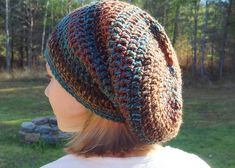 Ravelry: Seamless Spiral Bulky Slouch Hat pattern by Yarn me Silly