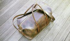 Original Leather Duffle