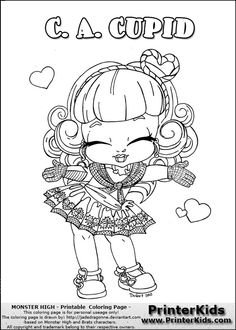 Baby Monster High Coloring Pages Monster High Howleen Wolf High Baby Coloring Pages