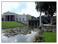 08.09.02.15.02 Potsdam, Park Sanssouci, Schloss Charlottenhof, Karl Friedrich Schinkel